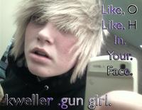 kweller gun girl.