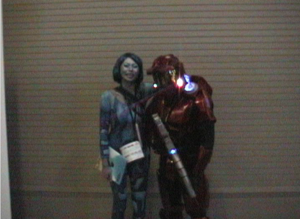 Red Master Chief and Cortana at PAX!