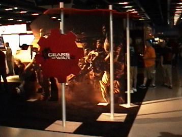 The Gears of War 2 Booth at PAX!